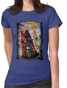 Dalek - Exterminate! by Mark Compton Womens Fitted T-Shirt