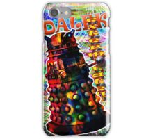 Dalek - Exterminate! by Mark Compton iPhone Case/Skin