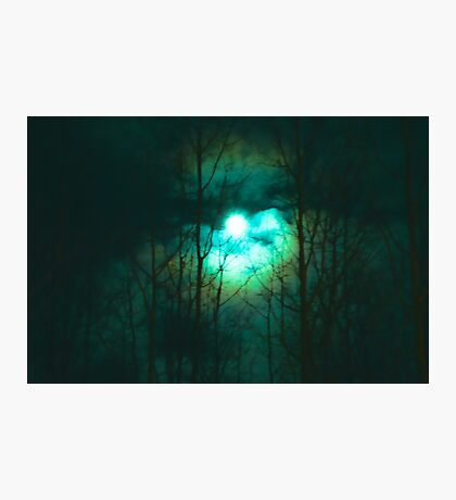 Full Moon on a Cold Night Photographic Print