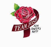 Team Josh Ribbon and Rose Unisex T-Shirt