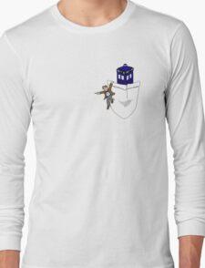 Timey Wimey Pockety Wockety Long Sleeve T-Shirt