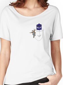 Timey Wimey Pockety Wockety Women's Relaxed Fit T-Shirt