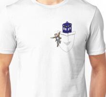 Timey Wimey Pockety Wockety Unisex T-Shirt