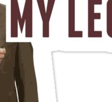 Anchorman 2: Where Are My Legs?! Sticker