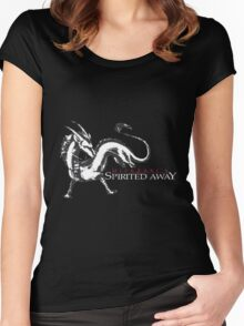 spirited away haku dragon Women's Fitted Scoop T-Shirt
