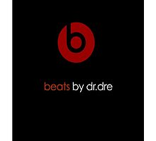 Beats by dr.dre logo by kinderberry