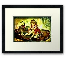 A CHILDS CHRISTMAS Framed Print