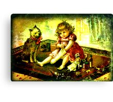 A CHILDS CHRISTMAS Canvas Print