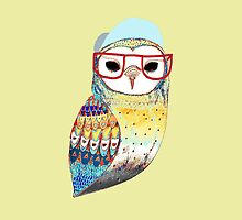 Hipster Owl by AbsoluteLegend