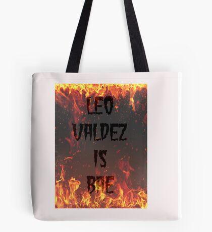 LEO Valdez is BAE Tote Bag
