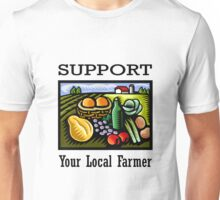 Support Your Local Farmer Unisex T-Shirt