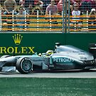 Lewis Hamilton by Cole Stockman