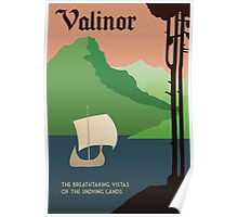 Travel Middle Earth: Valinor Poster