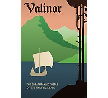 Travel Middle Earth: Valinor Photographic Print