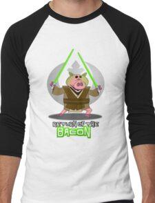 Return of the Bacon Men's Baseball ¾ T-Shirt
