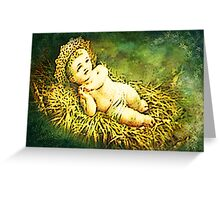 THE CHRIST CHILD Greeting Card