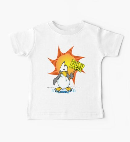 Penguin Misses the Ice Baby Tee