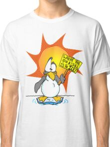 Penguin Misses the Ice Classic T-Shirt