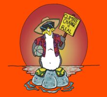 Global Warming Penguin Kids Clothes