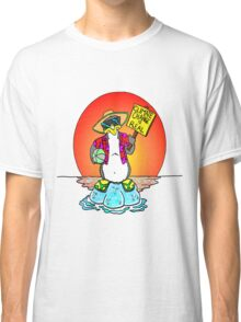 Global Warming Penguin Classic T-Shirt