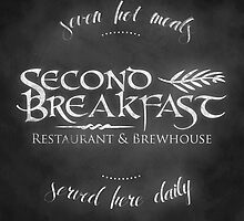 Second Breakfast Restaurant & Brewhouse by Denise Giffin
