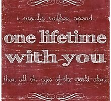 One Lifetime With You by Denise Giffin
