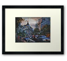 Rush Hour III Framed Print