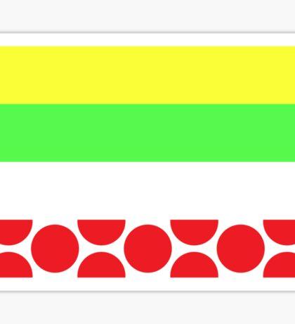 Tour de France Jerseys (Horizontal) Sticker