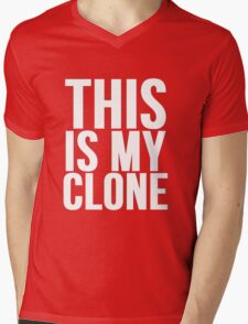 This Is My Clone Mens V-Neck T-Shirt