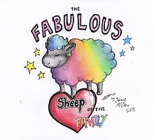 The Fabulous Sheep of the Family by JaimieElizabeth