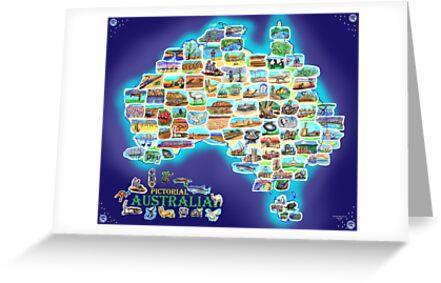 Pictorial Australia by David Fraser