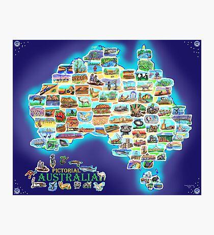 Pictorial Australia Photographic Print