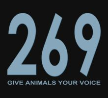 269 - give animals your voice T-Shirt
