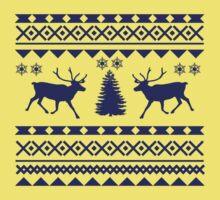 Ugly Sweater Design Kids Tee