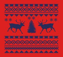 Ugly Sweater Design One Piece - Short Sleeve
