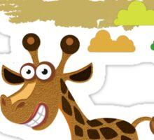 Cute Stuffs Collector's Tee-Shirts and Stickers - Giraffe Sticker
