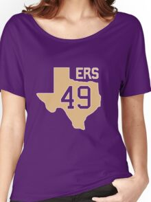Texas for 49ers  Women's Relaxed Fit T-Shirt