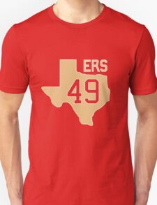 Texas for 49ers  Unisex T-Shirt