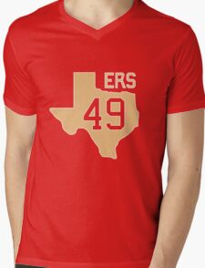 Texas for 49ers  Mens V-Neck T-Shirt
