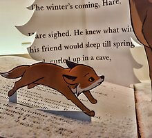 The winter's coming, Hare by Beverley Goodwin