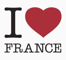 I ♥ FRANCE Kids Clothes