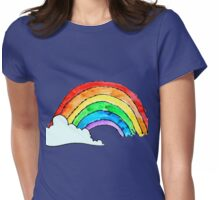 I Can Sing A Rainbow Womens Fitted T-Shirt