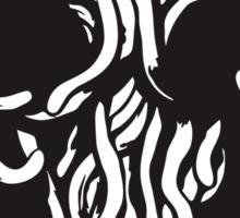 Flying Spaghetti Monster Obey Parody Sticker