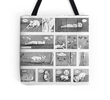 Luni's World Comic Print Tote Bag