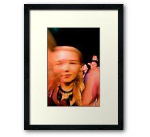 Blur Framed Print