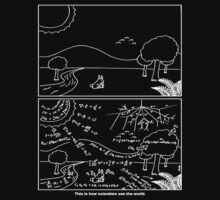 How scientists see the world [dark] by ThePhysicist R