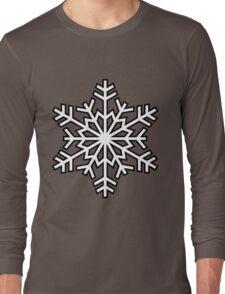 snowflake pattern v2 Long Sleeve T-Shirt