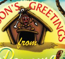 Season's Greetings from Panama Sticker