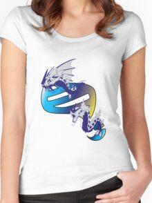 Mega Gyarados Evolution Women's Fitted Scoop T-Shirt