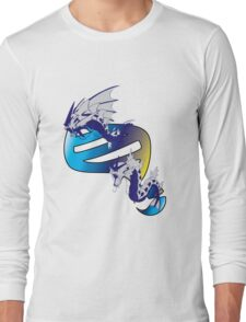 Mega Gyarados Evolution Long Sleeve T-Shirt